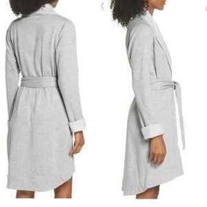 🆕 UGG Blanche II Gray Short Robe